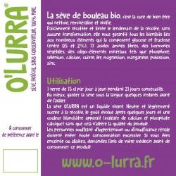 Sève de Bouleau O'LURRA 3L
